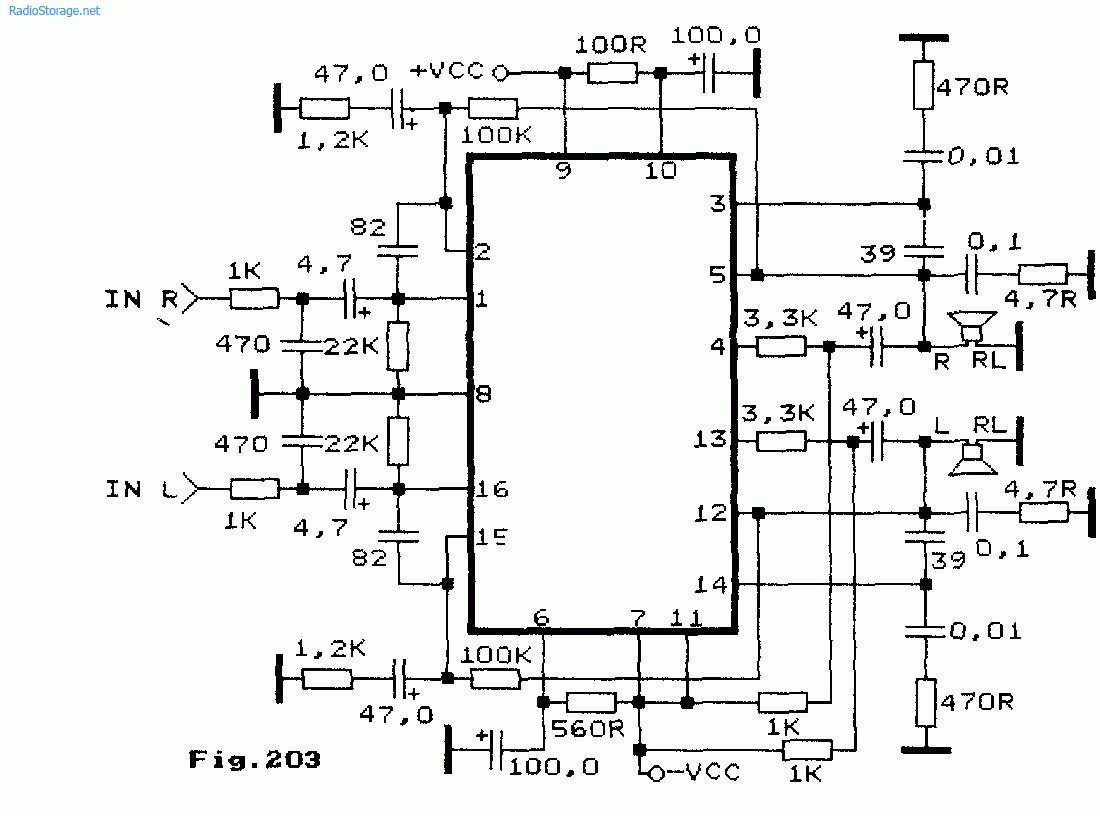 Схемы УНЧ на микросхемах серии STK47х STK48х STK4913