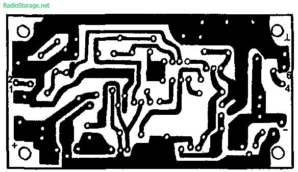 Схема УМЗЧ на КР544УД2, КТ818, КТ819 (40Вт)