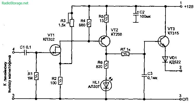 Автоматическое отключение радиоаппаратуры