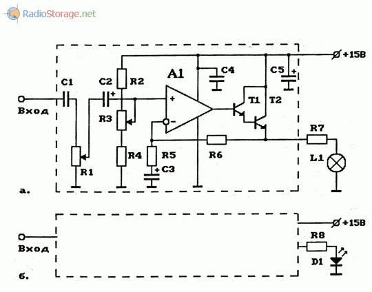 Схемы передатчиков с модуляцией (АМ) луча света