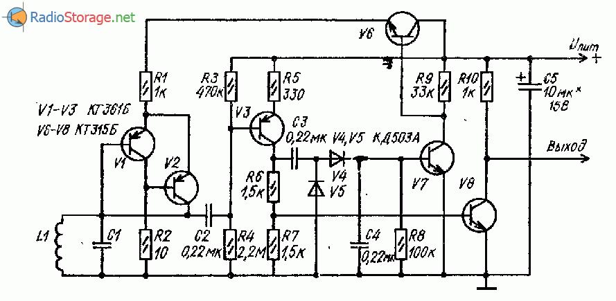 Несложный транзисторный LC-генератор звуковой частоты (ЗЧ)