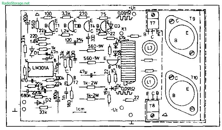 Схемы легендарного усилителя Quad 405 и его клонов
