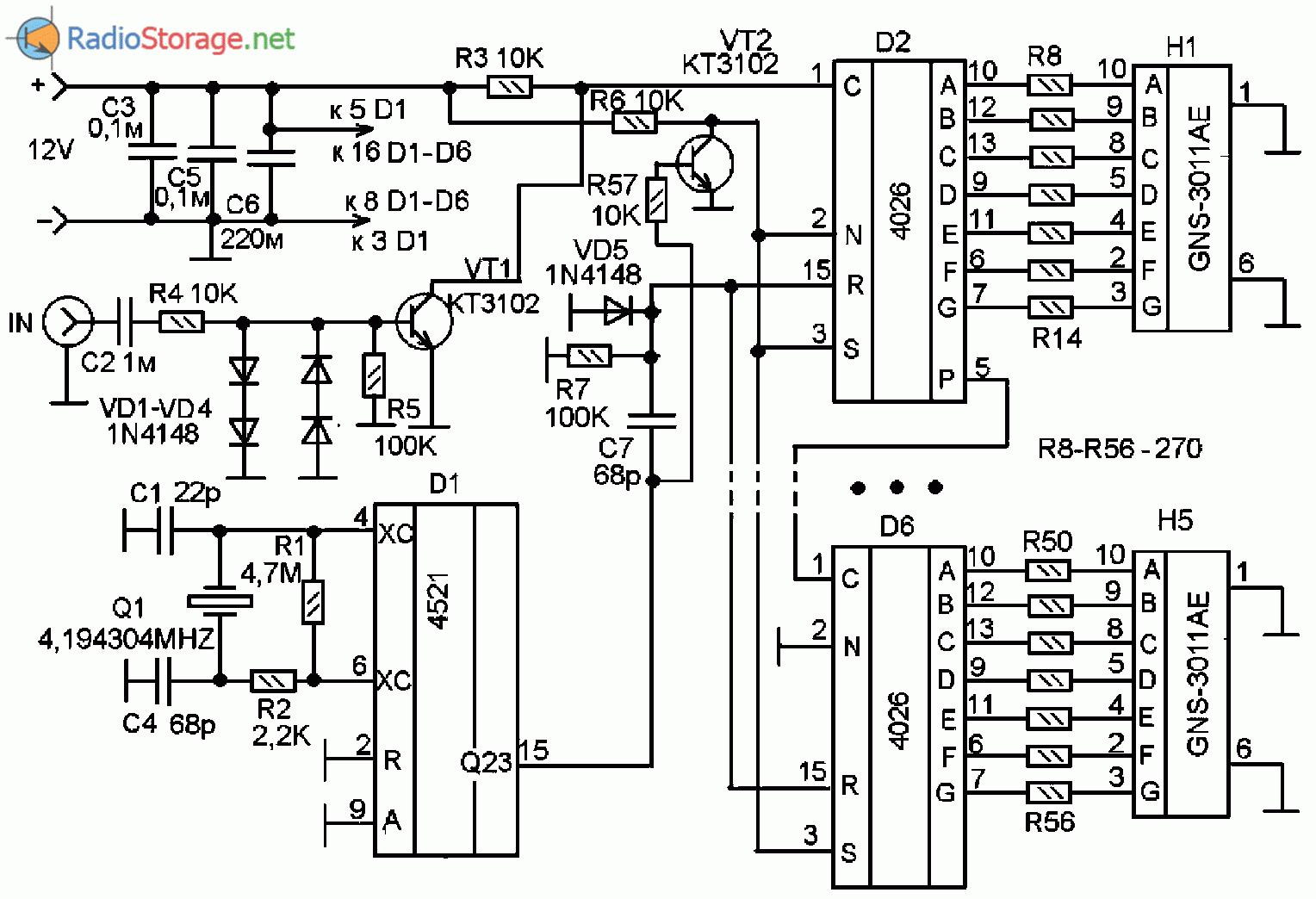 Схема простого звукового генератора фото 41