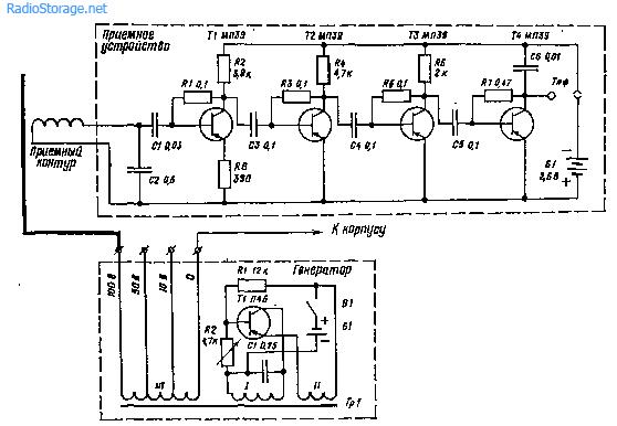 Определение путей прохождения проводов в радиоэлектронной аппаратуре