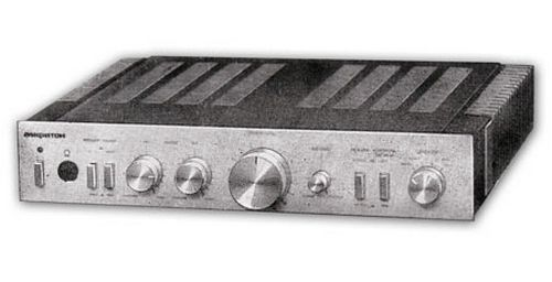 Усилитель Амфитон-002 стерео, схема