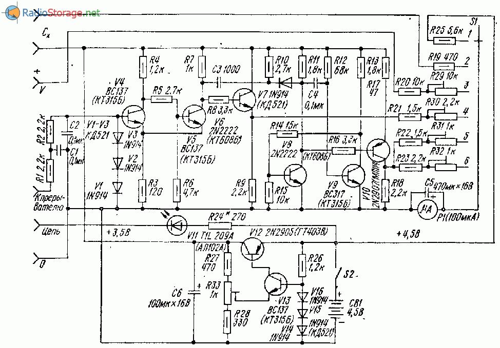 Универсальный прибор-тестер для автолюбителя