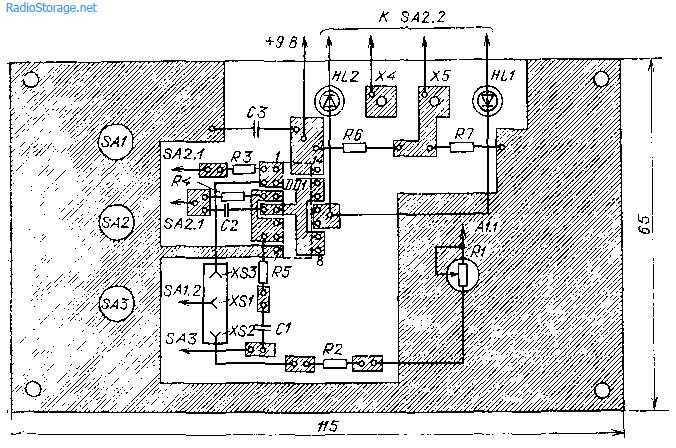 Прибор для проверки транзисторов и диодов
