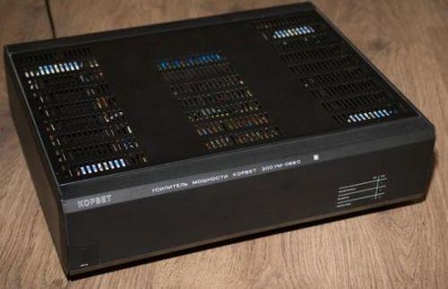 Усилитель Корвет 200УМ-088С, схема