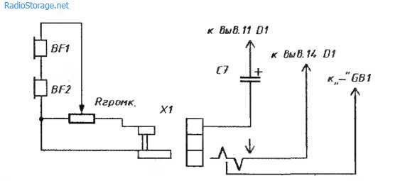 Радиоприемник на микросхеме K176ЛE5 ДВ диапазон