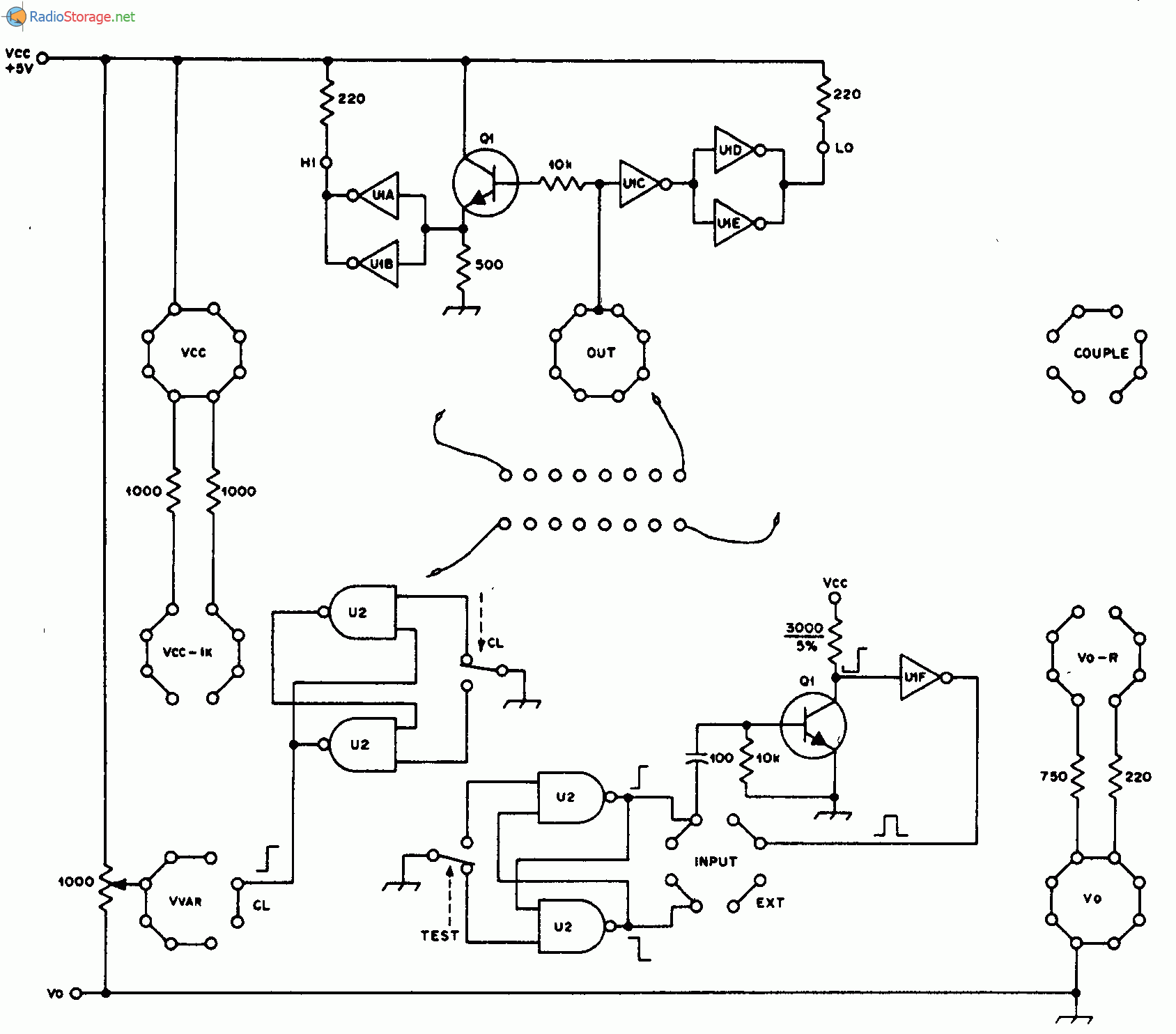 Электронная схема
