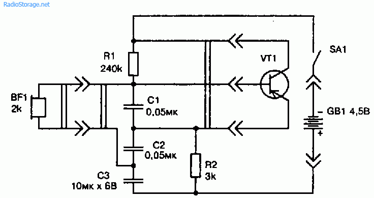 Схемы пробников для проверки годности маломощных транзисторов