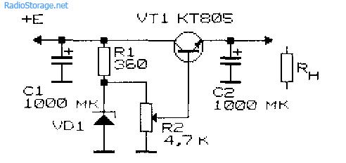 Простые выпрямители, фильтры, стабилизаторы