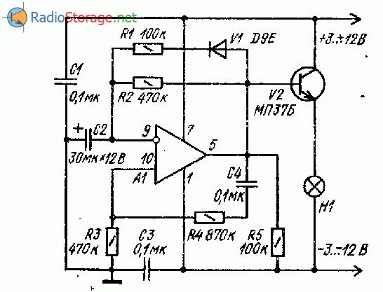 Тестер микросхем - операционных усилителей