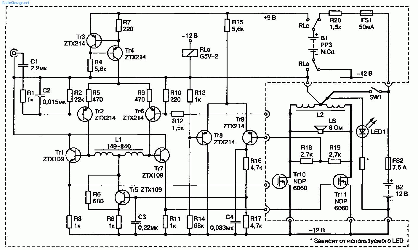 Мощный УМЗЧ в режиме класса А (32 Вт 8 Ом)