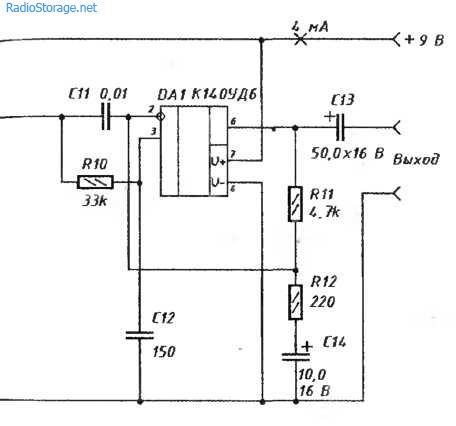 Схема простого приемника на 27МГц