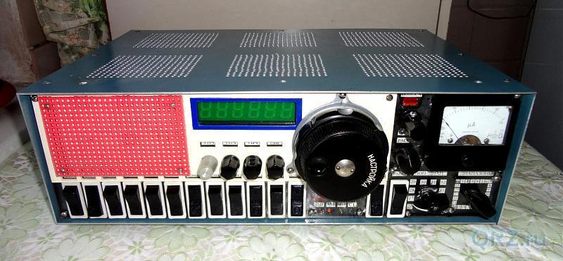 Рис.11.7. Радиоприёмник «Экстра-Тест». Вид сверху.