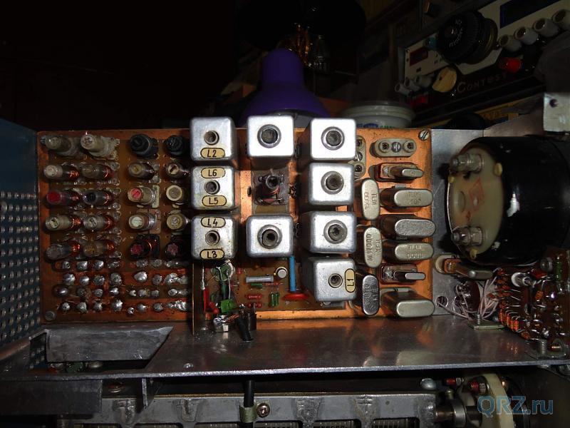 Входные фильтры, кварцевый генератор.