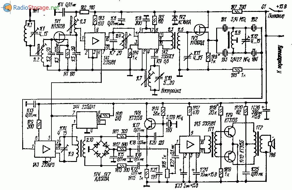 Радиостанция для связи через радиолюбительские спутники