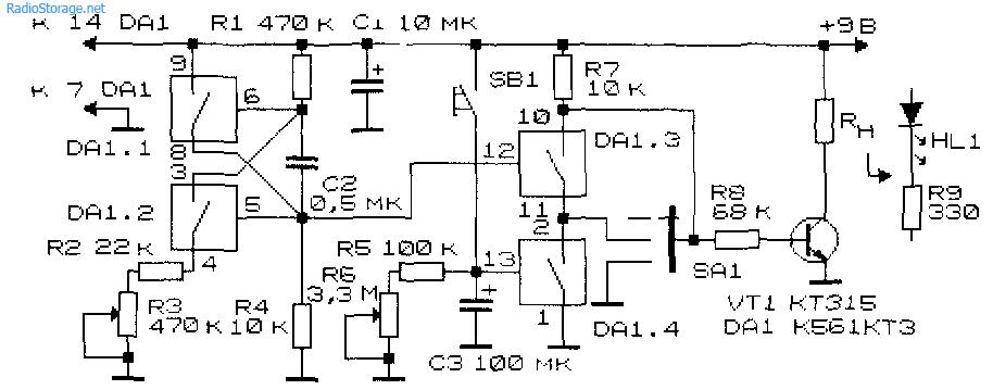 функциональный генератор на к561ла7 сборник- просто бомба
