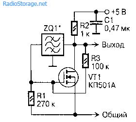 Схемы генераторов с использованием транзисторов КП501