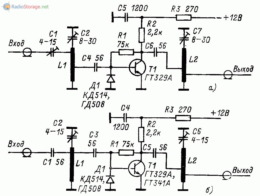Схема усилитель антенного сигнала фото 649
