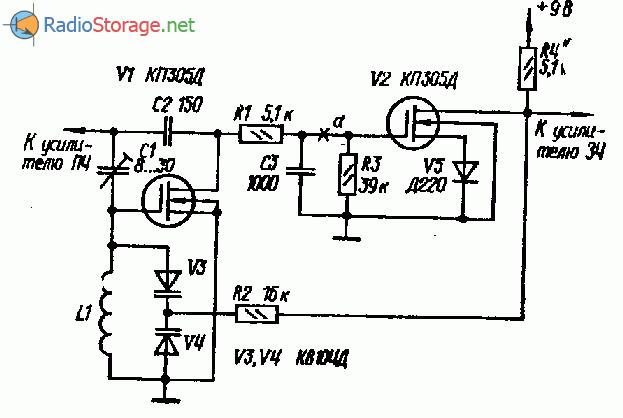Частотный детектор с обратной связью по частоте
