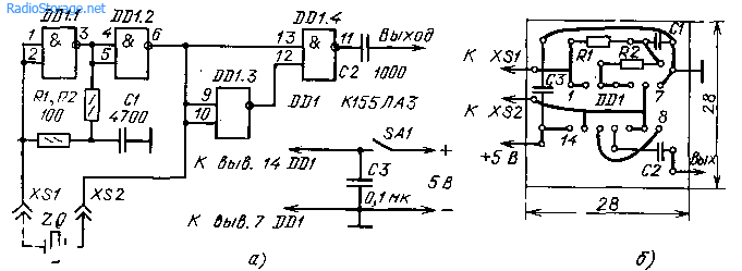 Калибратор шкалы радиоприемников