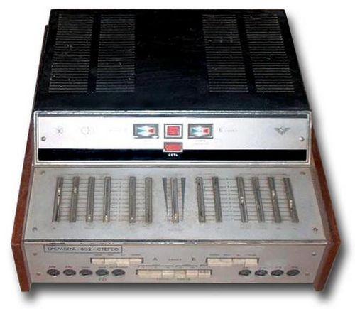 Усилитель Трембита - 001 стерео, схема