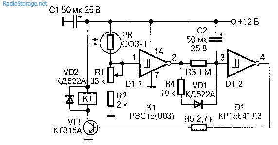 Универсальные фотодатчики на фоторезисторах