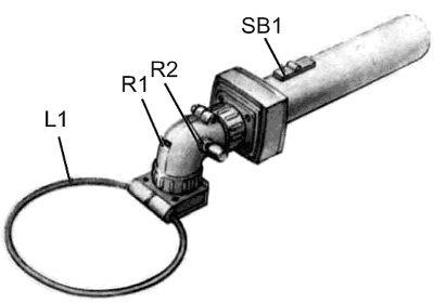 внешний вид металлоискателя