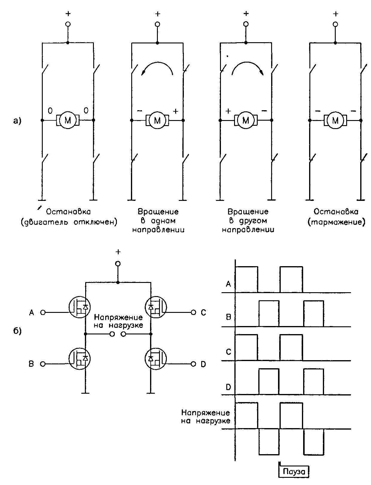 Схема обмотки двигателя постоянного тока фото 387