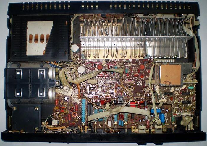 Усилитель Вега 50У-122С, схема