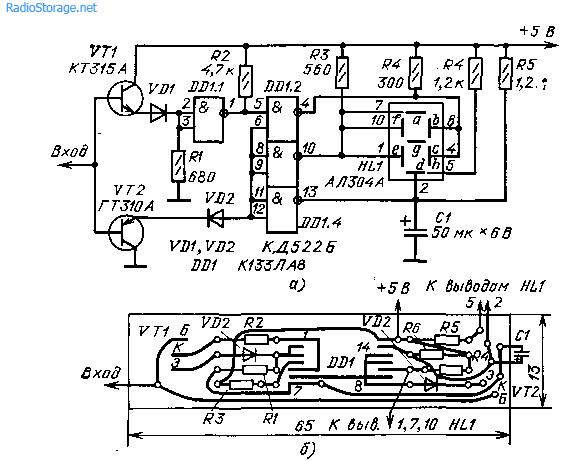 Пробники со световой и звуковой сигнализацией