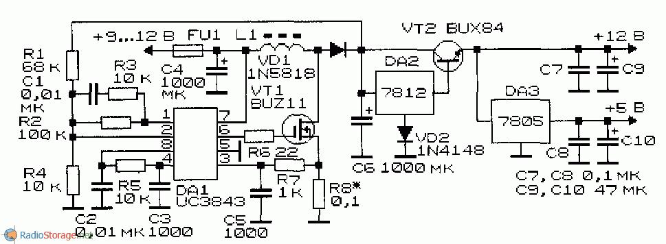 Микросхема стабилизатор напряжения 12в 3а чемпион генератор бензиновый