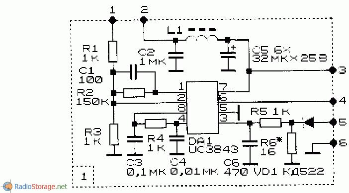 Импульсный стабилизатор напряжения повышающий схема стабилизатор напряжения luxeon ewr 10000