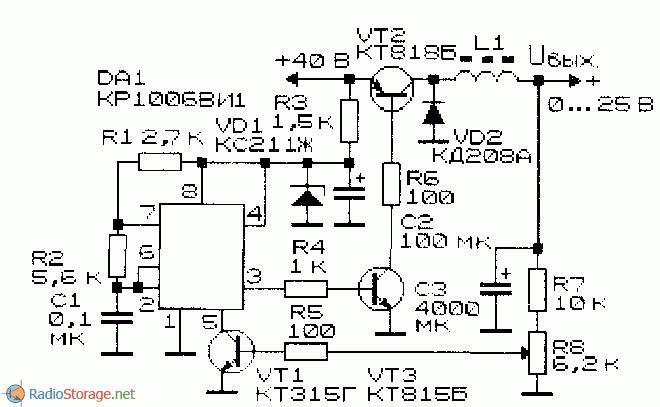 Полевой транзистор стабилизатор напряжения сварочный аппарат почему не бьет током
