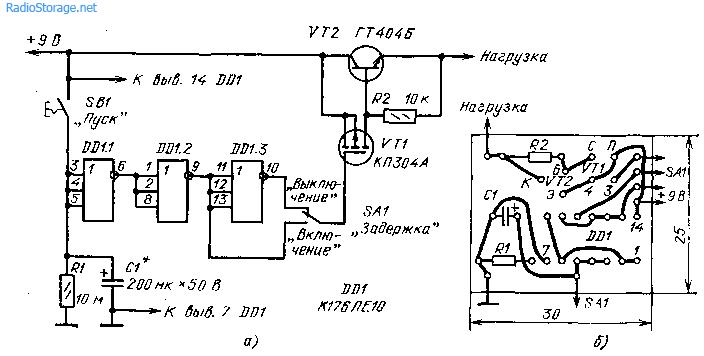 Таймер (176ЛЕ10)