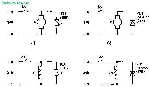 Защита низковольтных цепей постоянного тока