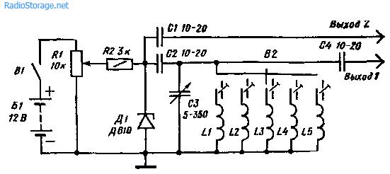 Простейший сигнал-генератор на одном стабилитроне
