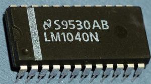 Внешний вид микросхемы LM1040