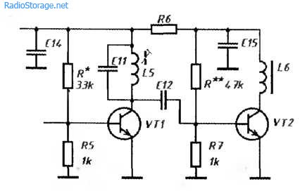 Схема портативной радиостанции с ЧМ, 27 МГц, 3Вт